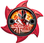 Super Samurai Red Ninja Power Star