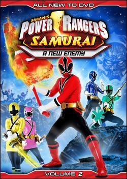Power Rangers Samurai Volume 2: A New Enemy