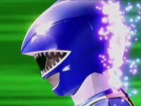 Blue Wild Force Ranger Morph 2