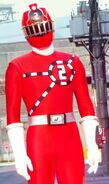 Kyoryuger vs. Go-Busters - ToQ 2gou Red