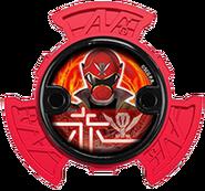 Super Megaforce Red Ninja Power Star