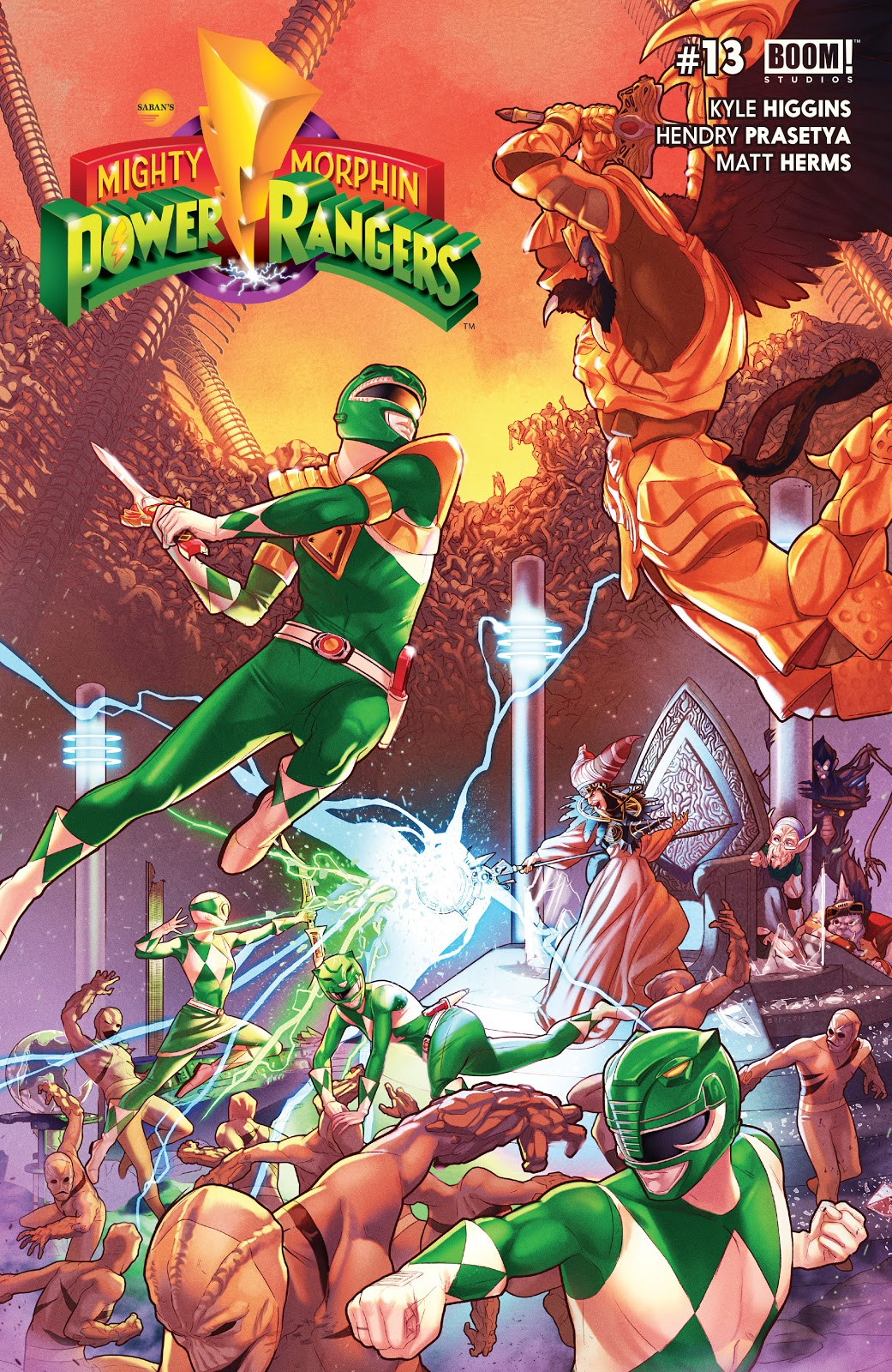 Mighty Morphin Power Rangers (Boom! Studios) Issue 13