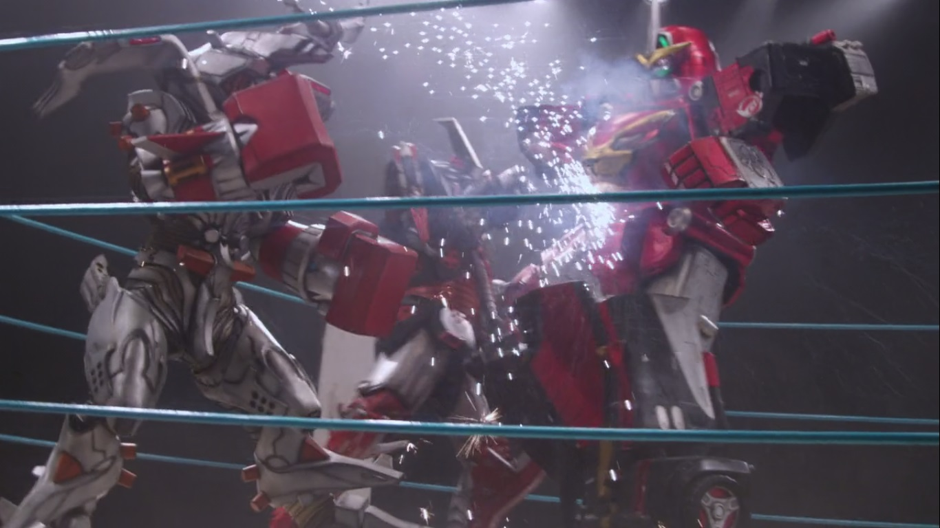 Comparison:Mission 38: Live! Ace Deathmatch vs. Boxed In (Beast Morphers)