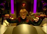 Hunter Bradley in Cockpit