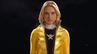 Yellow Super Megaforce Ranger Morph 1