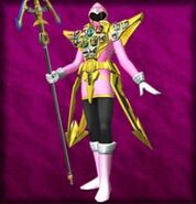 Gokai Pink Gold Mode (Dice-O)