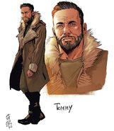 Old man Tommy concept art