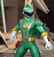 Legacy Wars Green RPM Ranger Victory Pose