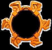 Gekiatsu Shuriken (Chip-Less)