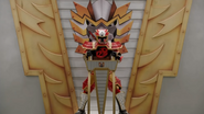 Lion Zord Cockpit with Red