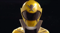 Yellow Super Megaforce Ranger Morph 2
