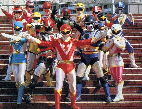 Jetman Stage Show at Super Hero Korakuen Yuenchi