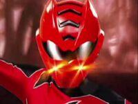 Red Jungle Fury Ranger Morph 1