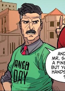 Principal Caplan (2016 comic)