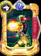 DekaYellow SWAT Mode Card in Super Sentai Legend Wars