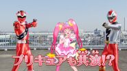 Cure Star with KirameRed & Ryusoul Red