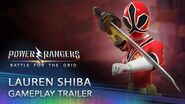 Power Rangers Battle for the Grid - Lauren Shiba (Red Samurai Ranger)