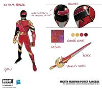 Red Solar Ranger concept
