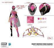 Pink Solar Ranger Concept