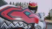 DC Red Ranger Armed 2
