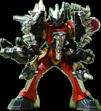 Dino Fury Megazord Spike Formation