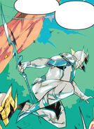 Mighty Morphin Issue 1 - Zartus Guardian form