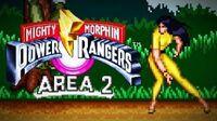 Mighty Morphin Power Rangers (SNES) - Area 2