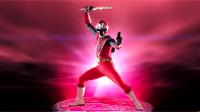 Red Ninja Steel Ranger Morph 2
