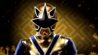 Gold Samurai Ranger Morph 1