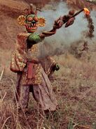 Poison Fang Mask Fullbody