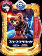 DekaRed & Space Sheriff Gavan Card in Super Sentai Legend Wars