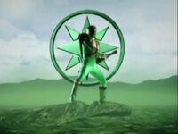 Green Ninja Storm Ranger Morph 2