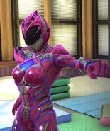 Legacy Wars Pink Ranger 2017 Movie Victory Pose