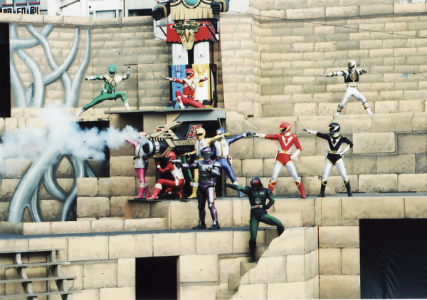 Dairanger Stage Show at Super Hero Korakuen Yuenchi