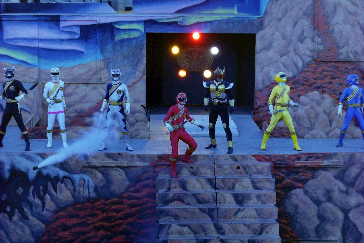 Gaoranger Stage Show at Double Hero Korakuen Yuenchi