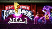 Mighty Morphin Power Rangers (SNES) - Area 3
