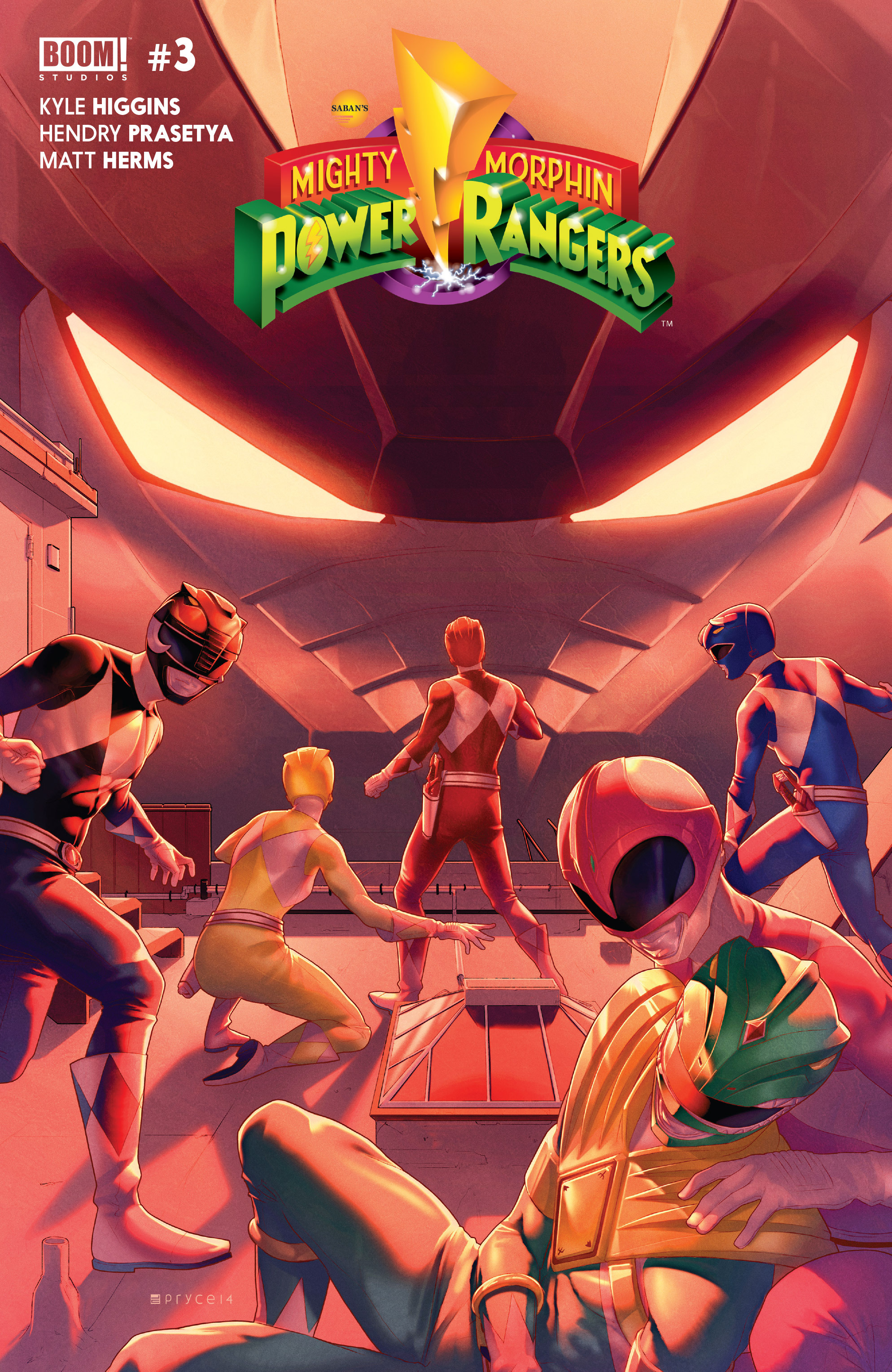 Mighty Morphin Power Rangers (Boom! Studios) Issue 3