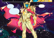 Mighty Morphin Issue 2 - Zophram as the Supreme Commander