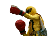 Yellow Mystic Ranger in Mystic Force Fighters