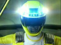Yellow Overdrive Ranger Morph 1