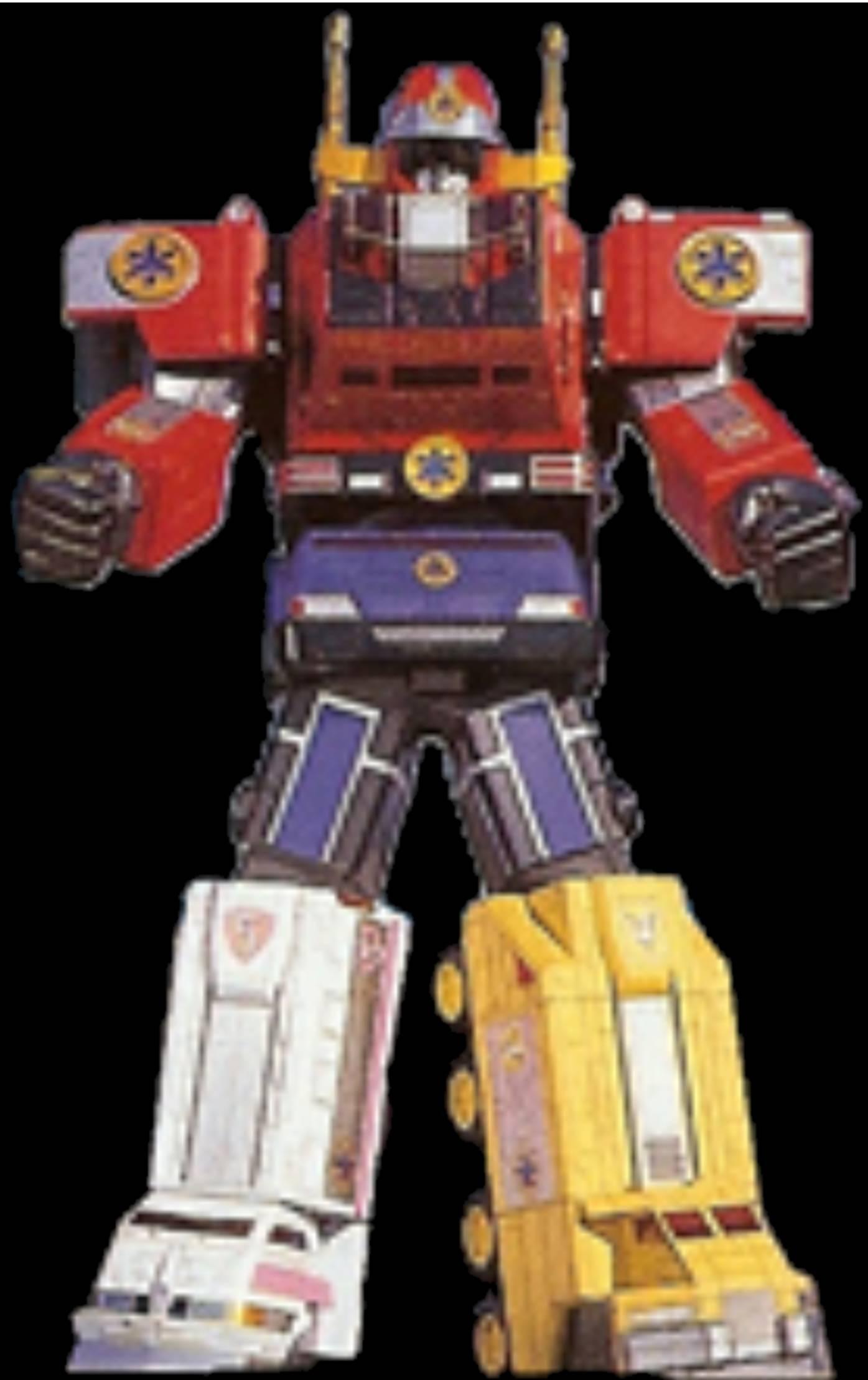 Comparison:Kinkyu Gattai Victory Robo vs. Lightspeed Megazord