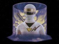 White Aquitar Ranger Morph 2