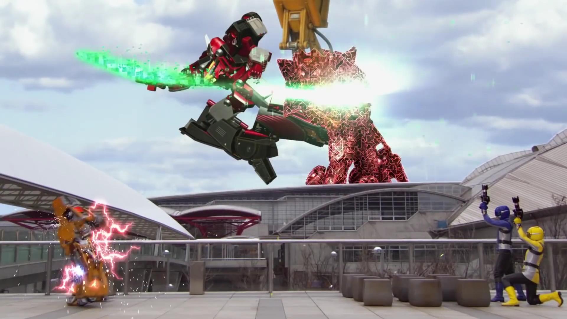 Comparison:Mission 1: Tokumei Sentai, Assemble! vs. Beasts Unleashed