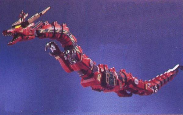 Tyrannosaurus Red Dragon Thunderzord