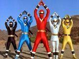 Alien Rangers of Aquitar