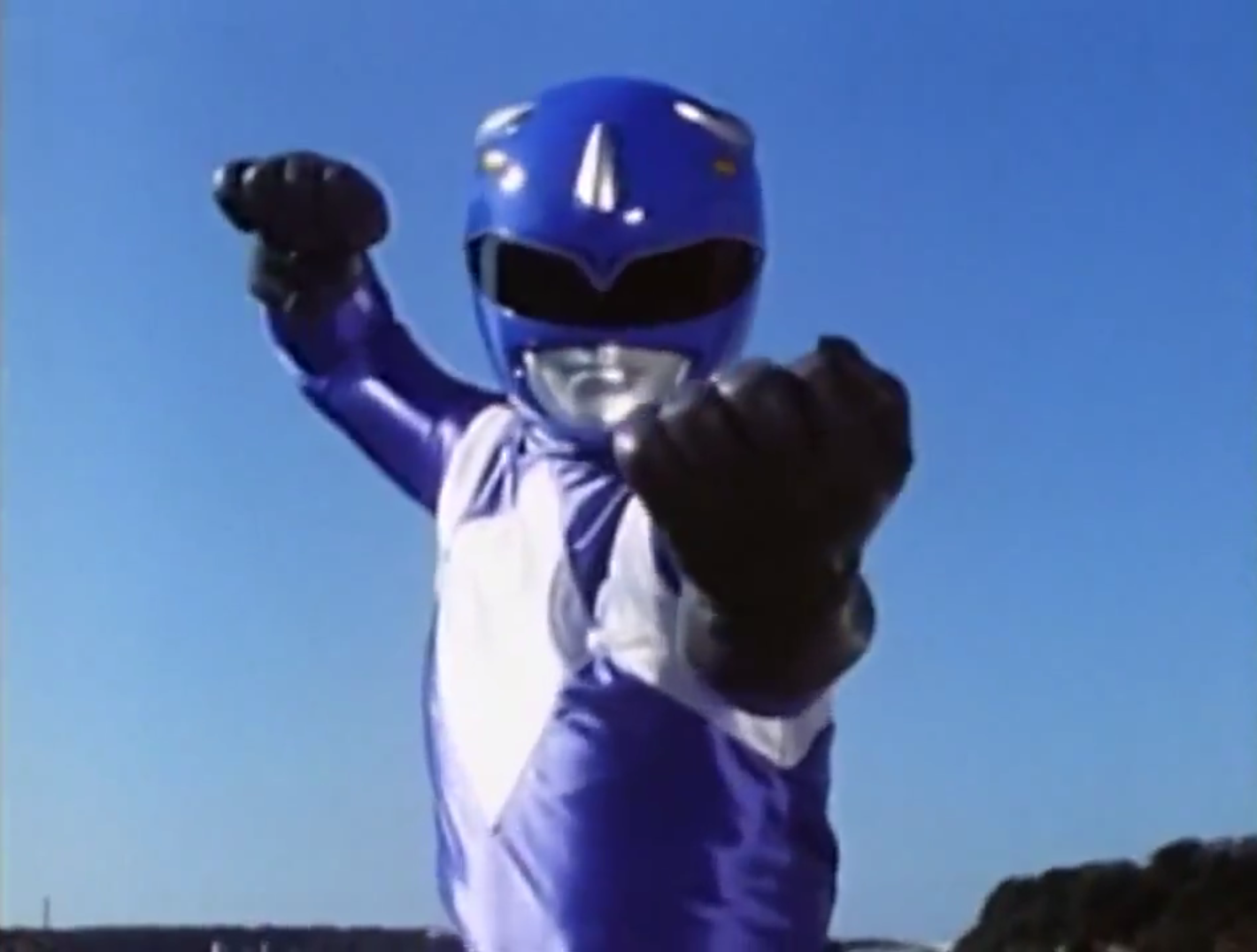 Blue Mutant Ranger