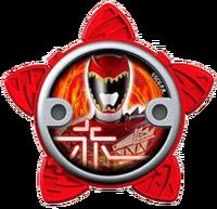 Dino Charge Red Ninja Power Star (V2)