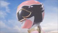 Pink Megaforce Ranger Morph 1