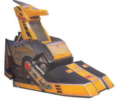 Sabertooth Tiger Griffin Thunderzord