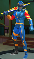 Legacy Wars Blue Solar Ranger